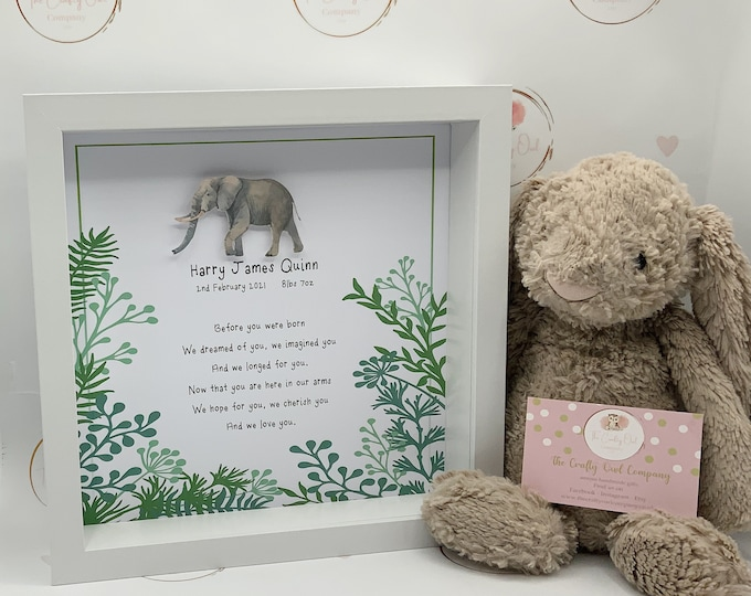 Personalised new baby frame-new baby gift