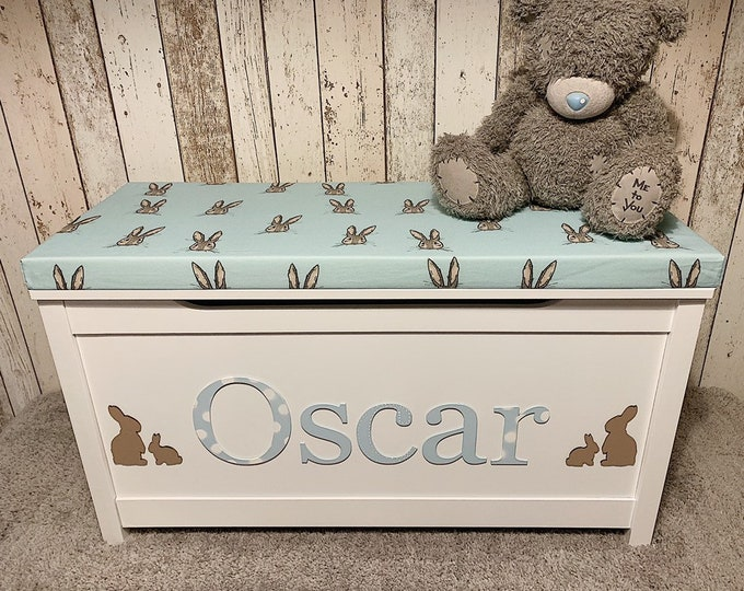 Personalised toy box LIMITED EDITION for boys
