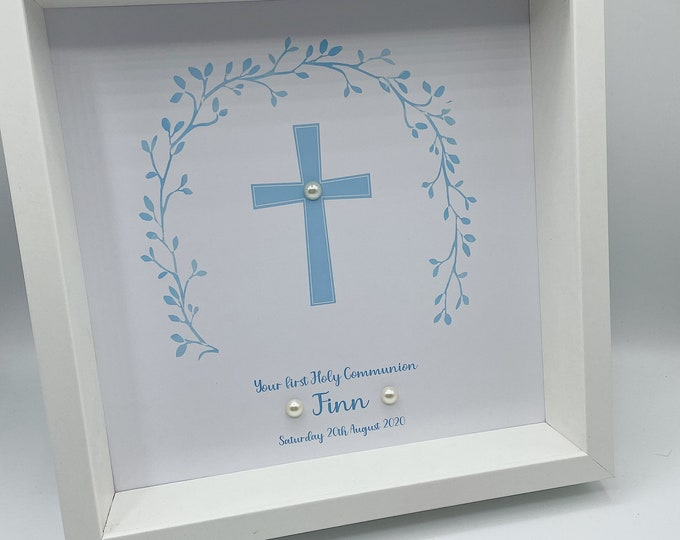 First communion personalised frame