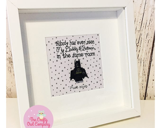 Superhero Father's Day birthday and anniversary personalised gift