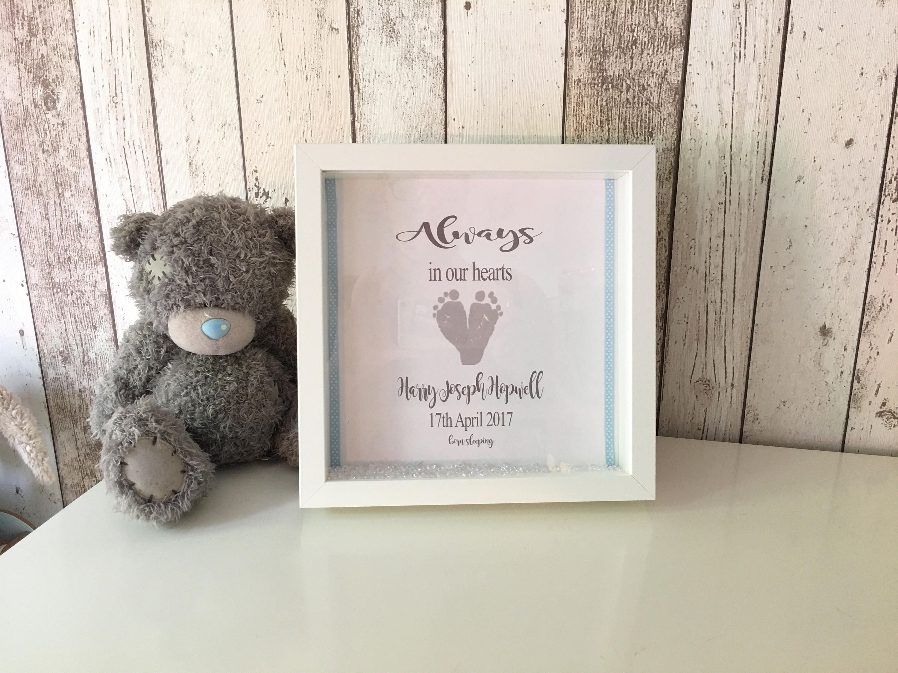 1 & Baby memorial gift infant loss print baby sympathy gift miscarriage ...