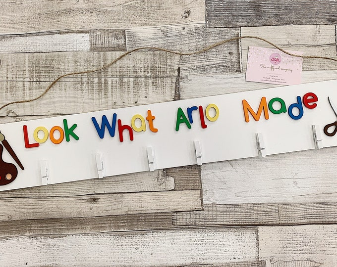 Personalised Artwork sign