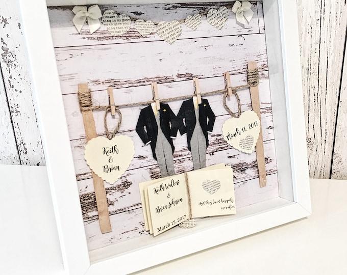 Mr & Mr wedding gift