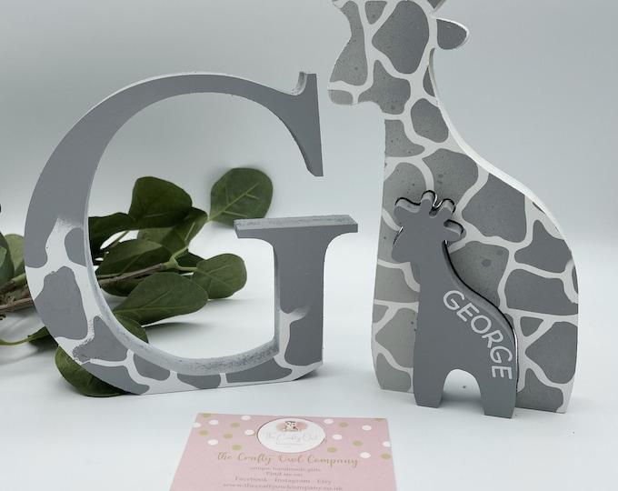 Freestanding unicorn letter
