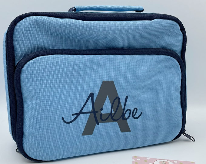 Back to school Personalised lunch bag cooler