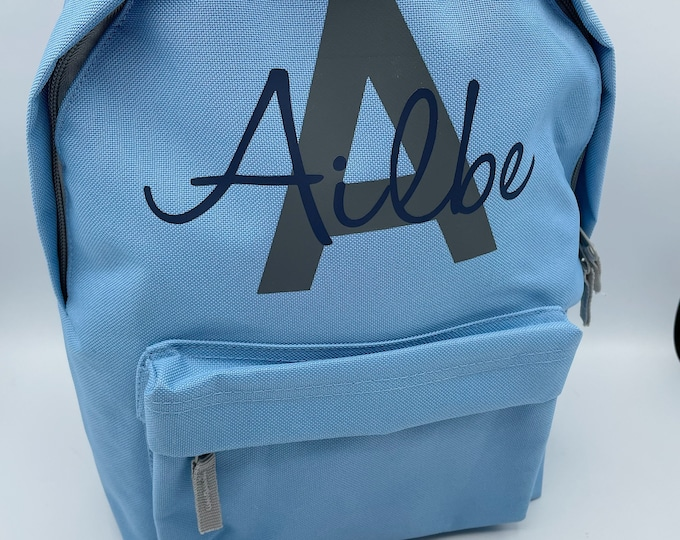 Back to school Personalised back pack