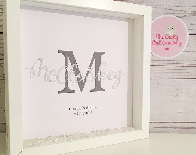 Wedding Engagement anniversary personalised gift