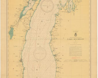 Lake Michigan Map 1898 | Etsy on largest inland lake in michigan, all cities in michigan, shape of michigan, silver lake michigan, northern michigan, lower peninsula of michigan, allenton michigan, branch county michigan, lansing michigan, troy michigan, major cities in michigan, thumb of michigan, state parks upper peninsula michigan, ellsworth michigan, tawas point lighthouse michigan, wildlife of michigan, saginaw michigan, people of michigan, battle creek michigan, white lake michigan,