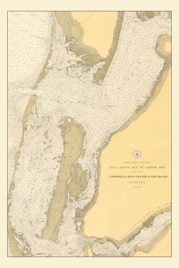 Boca Grande Island Florida Map