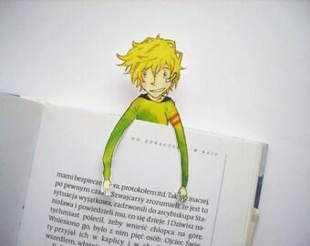 Yogi bookmark - Karneval manga anime gareki nyanperona gift for him gift for her