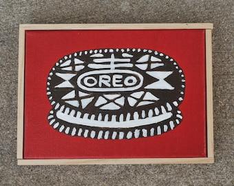 Nabisco Oreo Painting - Folk Art