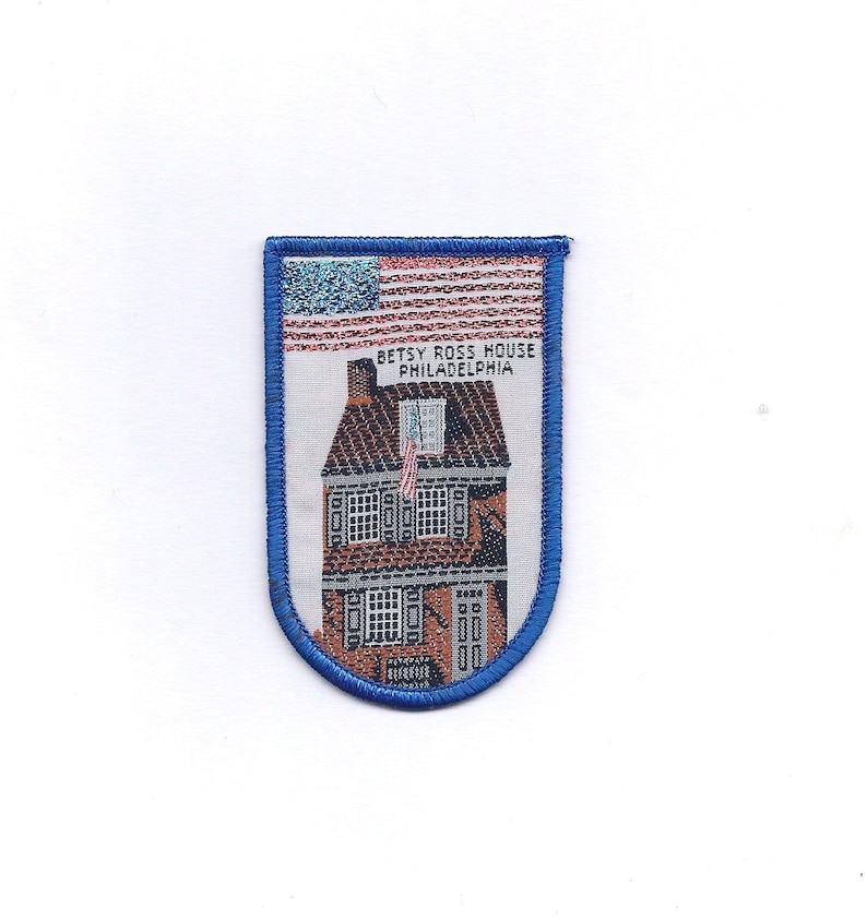 Vintage Betty Ross House Patch