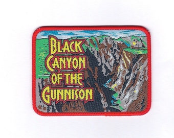 Vintage Black Canyon of the Gunnison Patch