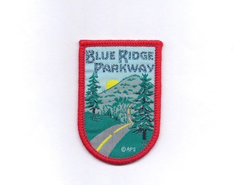 Vintage Blue Ridge Parkway Patch