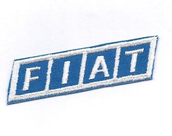 Vintage FIAT Car Patch