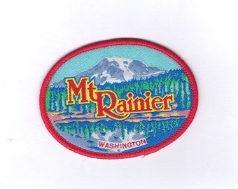 Vintage Mount Rainier Washington Patch