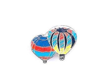Vintage Hot Air Balloons Hat/Lapel Pins