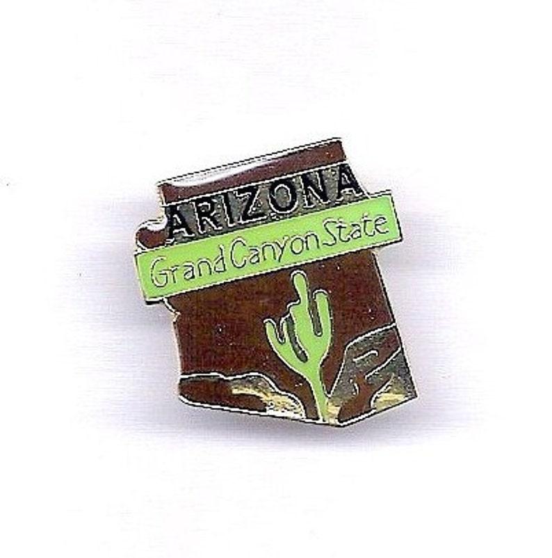 Vintage Arizona Grand Canyon State HatLapel