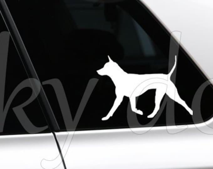 Thai Ridgeback silhouette dog sticker