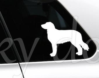Stabyhoun silhouette dog sticker