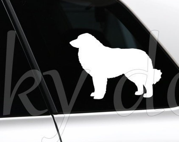 Great Pyrenees / Pyrenean Mountain Dog silhouette dog sticker