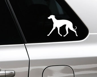 Whippet silhouette sticker