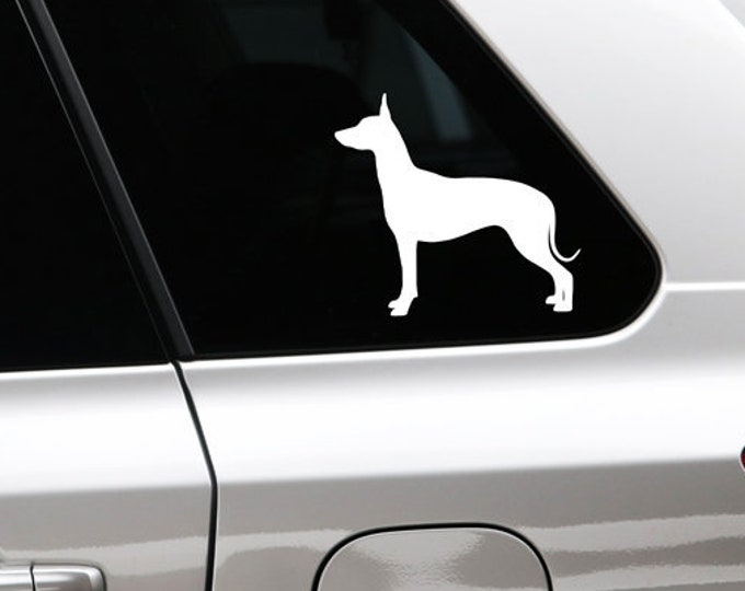 Mexican Hairless Dog sticker