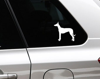 Podenco Ibicenco silhouette dog sticker