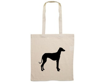 Canvas bag Sloughi silhouette