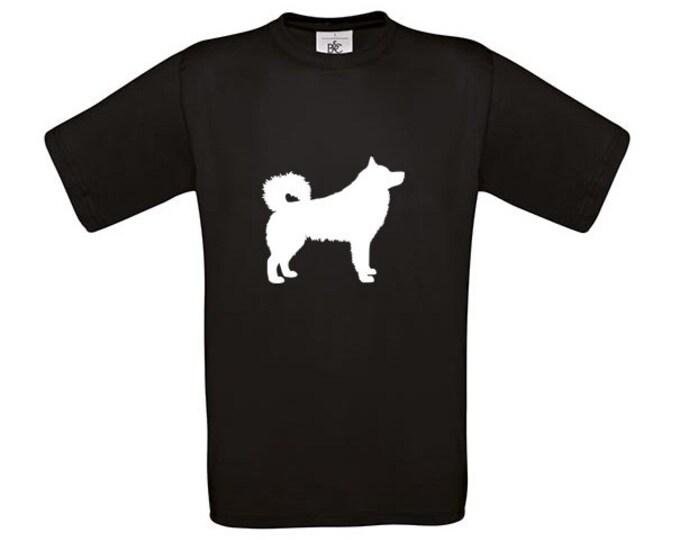 T-shirt Alaskan Malamute silhouette