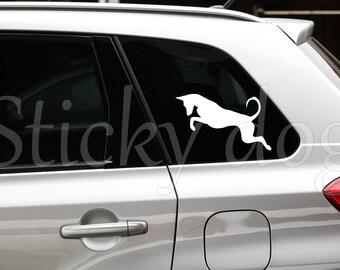 Podenco Ibicenco silhouette dog sticker
