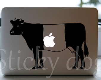 Lakenvelder cow silhouette sticker