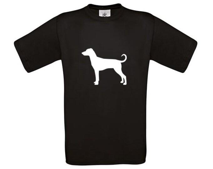 T-shirt German Pinscher dog silhouette