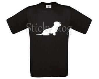 T-shirt Wire-haired Dachshund - Teckel silhouette