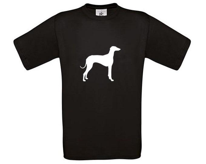 T-shirt Azawakh dog silhouette