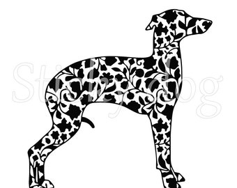 Italian greyhound/ sighthound renaissance patron sticker
