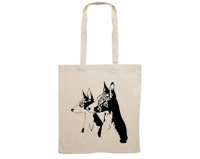 Canvas bag Podenco Ibicenco