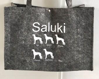 Felt bag Saluki