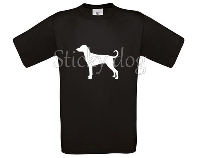 T-shirt German Pinscher dog silhouette