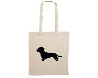 Canvas bag Wire-haired Dachshund - Teckel