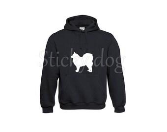 Hoody Finnish Lapphund dog silhouette