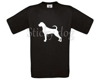 T-shirt Boxer silhouette