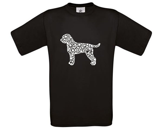 T-shirt Lagotto Romagnolo dog silhouette