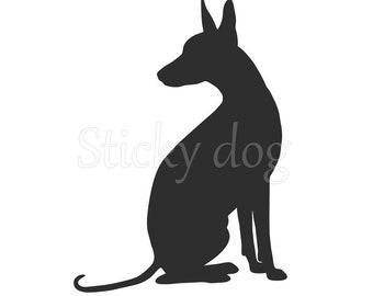 Peruvian Hairless Dog sticker