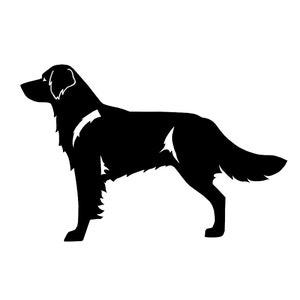 LeChienArtistiQ Portuguese Podengo dog silhouette sticker