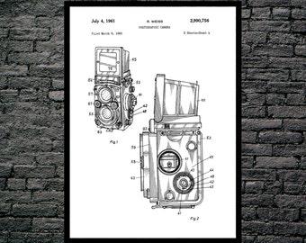 Camera Poster Vintage Camera Patent Vintage Camera Print Vintage Camera Vintage Camera Decor Vintage Camera Blueprint Camera p480