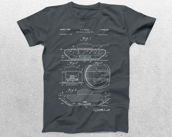 Military Tank Patent T-Shirt, Military Tank Blueprint, Patent Print T-Shirt, Military Tank Shirt, Military Shirt p1291