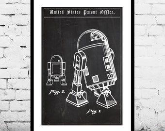 Star Wars Patent Star Wars poster star wars Poster Star wars Star wars poster Star wars art droid patent patent patent art decor p1408