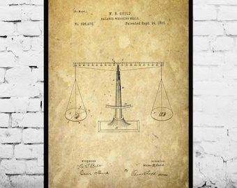 Scales of Justice Print Scales of Justice Poster Scales of Justice Patent Scales of Justice Art Lawyer Gift Gifts for Lawyers p257