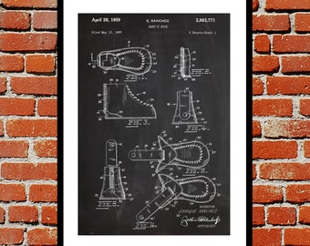 Baby Shoe Patent Baby Shoe Poster Baby Shoe Blueprint  Baby Shoe Print Baby Shoe Art Baby Shoe Decor p454